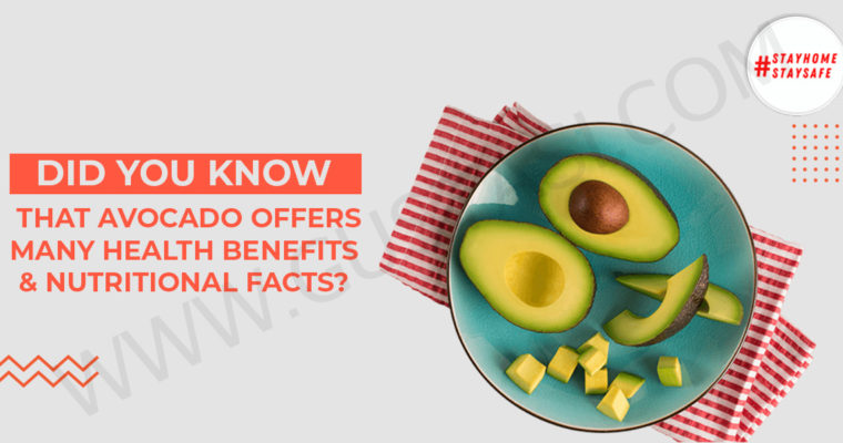 Did you know that Avocado offers many health benefits & nutritional facts?