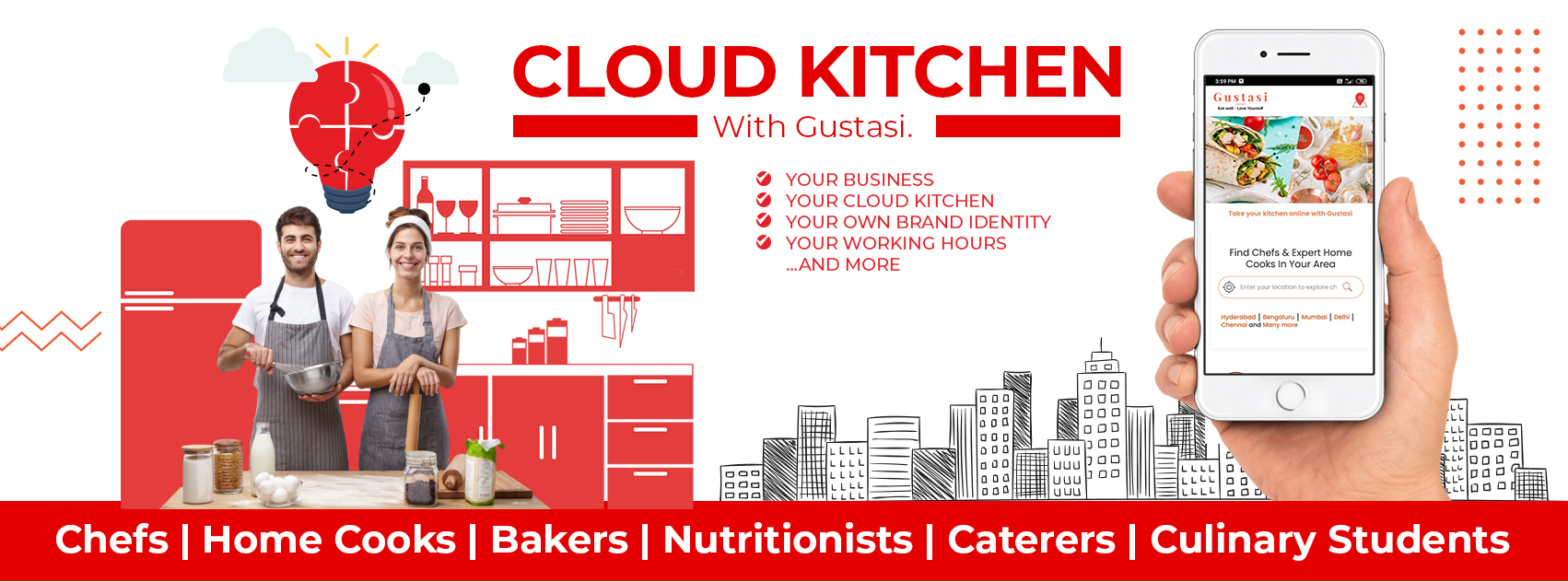 CLOUD KITCHEN – The future in food business