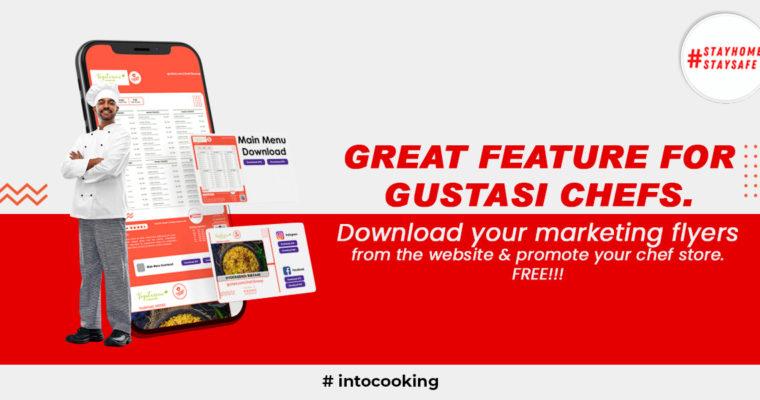 Gustasi Marketing Kit