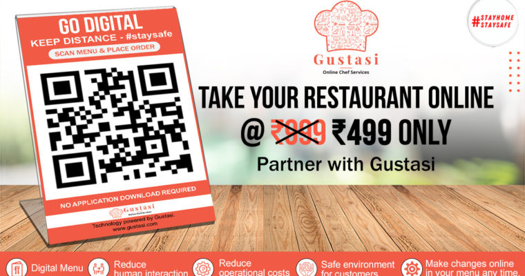 RESTAURANTS SIMPLY GO DIGITAL WITH CONTACTLESS MENU