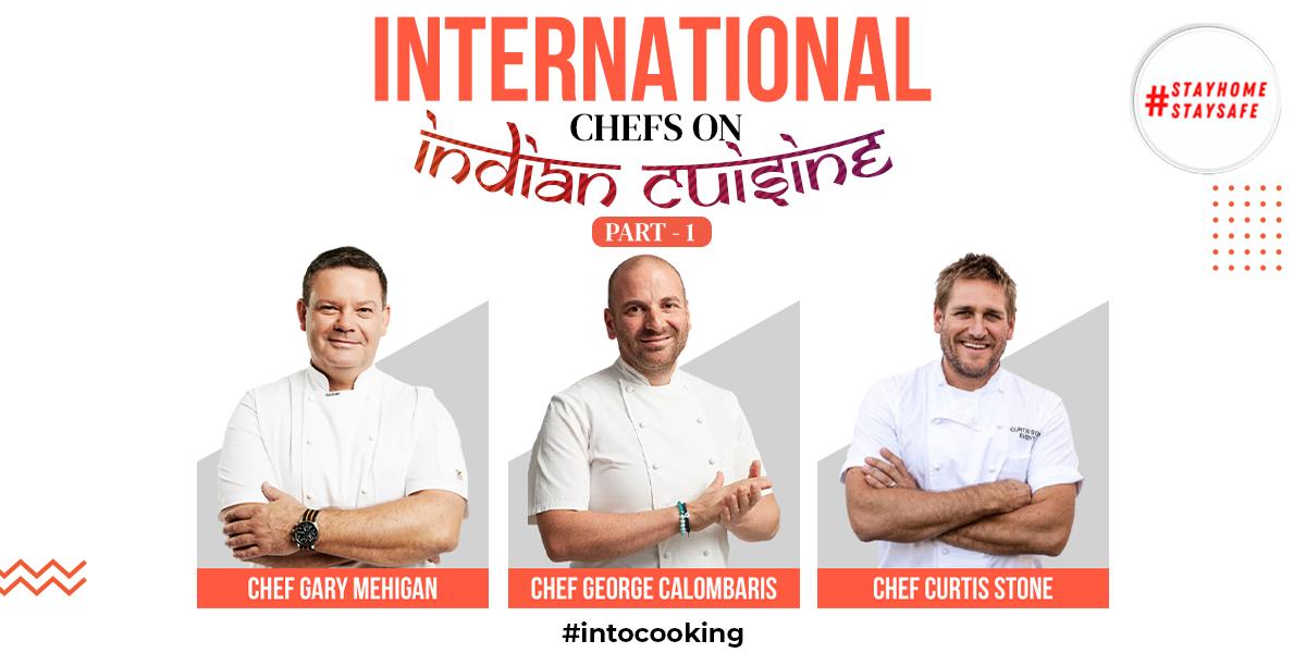 INTERNATIONAL CHEFS ON INDIAN CUISINE   PART 1